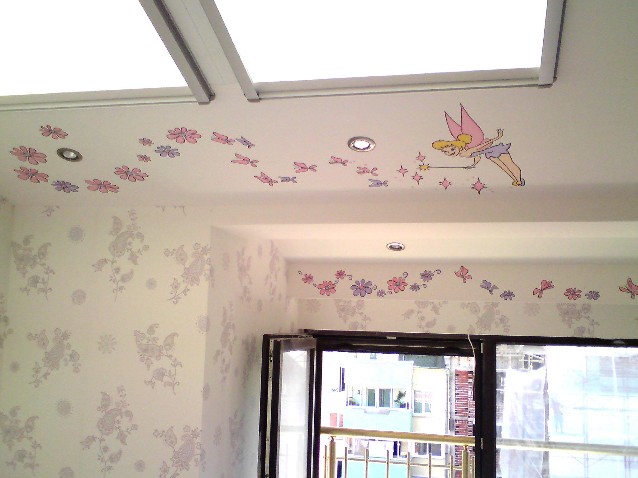 наклонен таван