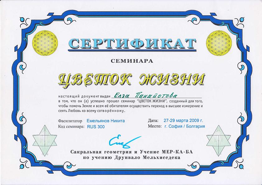 sertifikat cveteto